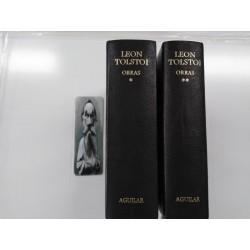 Obras Leon Tolstoi - Aguilar